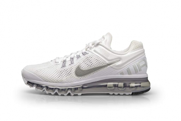 nike air max 2013 all white