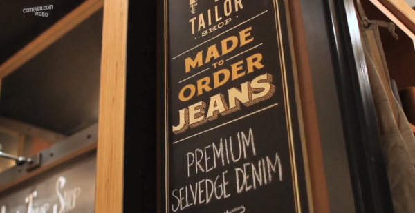Cut & Show- Making A Pair of Jeans By Hand with Levi's Master Tailor