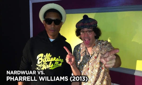 Nardwuar vs. Pharrell Williams (2013) - feature