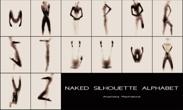 Naked Silhouette Alphabet - feature