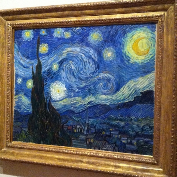 Vincent van Gogh - The Starry Night (MoMA)