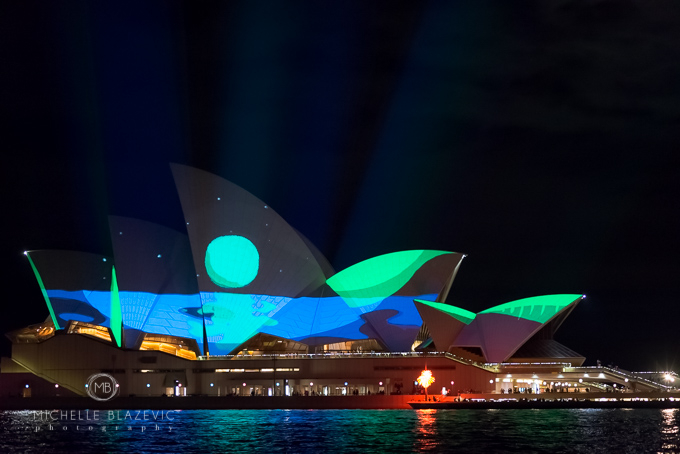 'Living Mural Universal Everything' at The Opera House