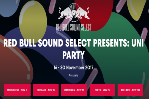 Red Bull Sound Select Tours Australia This Month with End of Uni Tour