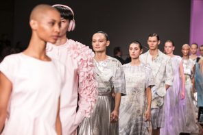 Akira Isogawa Celebrated 25 Years with his Resort 2019 Show at MBFWA